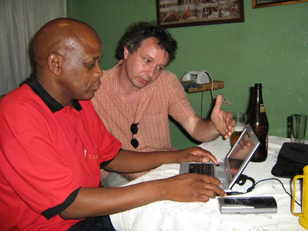 Working together with Kaizer Thibedi